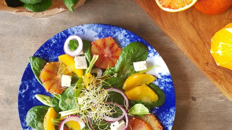 Salade de mâche sur-vitaminée !