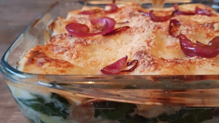 Lasagnes veggie aux blettes et ricotta